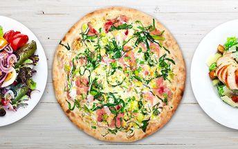 Libovolná jídla z pizzerie vč. rozvozu