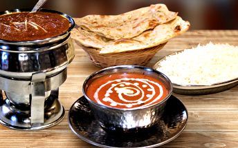Poskládejte si 3chodové indické menu pro dva