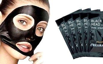 Přírodní pleťová maska – výhodný balíček 10ks včetně poštovného. Přírodní pleťová maska vhodná k odstranění ucpaných pórů, vyrobená z bambusového uhlí.Pleťová maska Pilaten slouží k odstranění černých teček a k vyčištění nečistot z pleti. Je vhodná k pro