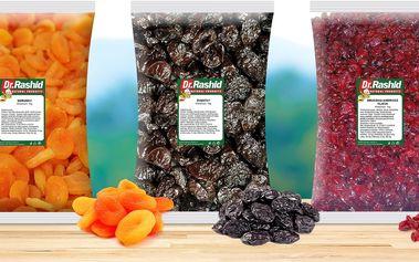 Balíček sušeného ovoce plného vitaminů a chutí