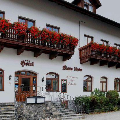 Hotel Stará Škola *** na Moravě s polopenzí a bowlingem