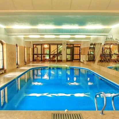 3 nebo 4denní pobyt se saunou a sportem v hotelu Šiškův mlýn**** u Telče pro 2