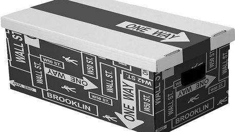 Sada 3 úložných boxů Ordinett New Pois, 52x29cm