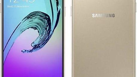 Mobilní telefon Samsung Galaxy A3 2016 s perfektním vzhledem, vysokým výkonem a skvělým foťákem