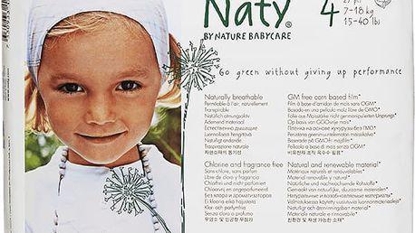 NATY NATURE BABYCARE 4 MAXI, 27 ks (7-18 kg) - jednorázové pleny