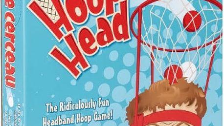 Vtipná házecí hra Hoop Head