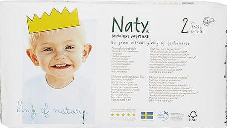 NATY NATURE BABYCARE 2 MINI, 34 ks ( 3-6 kg) - jednorázové pleny