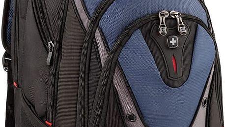 """WENGER IBEX - 17"""" batoh na notebook, modrý - 600638 + Stylový bezdrátový reproduktor Connect IT CI-823 v ceně 499,- Kč zdarma!"""