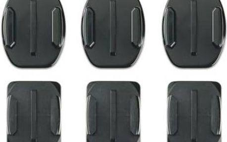 GoPro nalepovací rovné + zakřivené (AACFT-001) černý