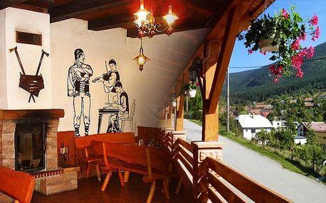 3–5denní pobyt pro 2 s obědem či večeří v penzionu Jánošíkova Krčma na Slovensku