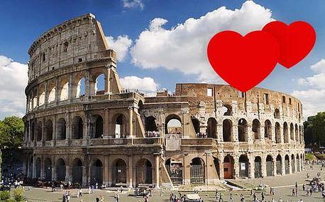5denní Florencie, Řím, Vatikán, ZA POLOVINU, muzea zdarma! Romantický zájezd do Itálie