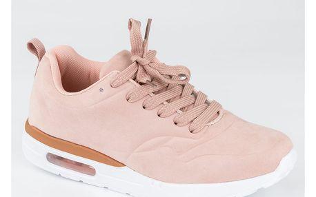Fashion world Dámské sportovní boty semišové