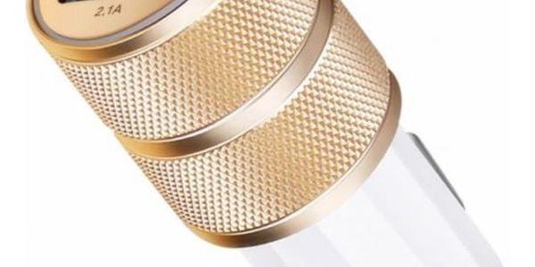 Kvalitní nabíječka do autozapalovače se dvěma USB sloty