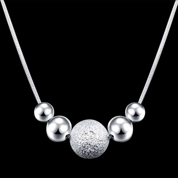 Luxusní náhrdelník s kuličkami