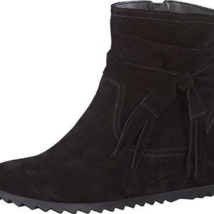 Tamaris Elegantní dámská zimní obuv 1-1-25006-27 001 Black 42