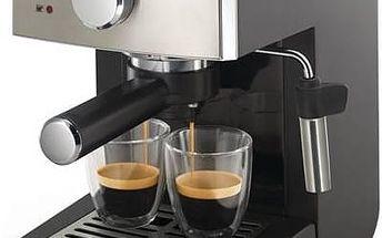 Espresso Saeco Poemia HD8425/19 černé/chrom + Doprava zdarma