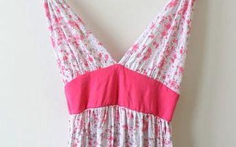 Dlouhé letní šaty Smash - VÝPRODEJ