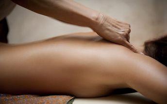 Klasická částečná masáž krku a šíje nebo masáž zad a šíje či celého těla pro 1 osobu či pár