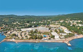 Řecko - Korfu na 8 dní, all inclusive s dopravou letecky z Prahy