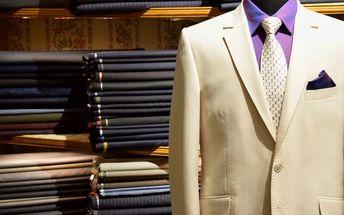 Záloha na prvotřídní pánský oblek šitý na míru