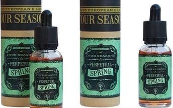 E-liquidy DROPS náplně do e-cigaret: čtvero ročních období, dobyvatelé či balení po 3-5 ks