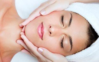 Kompletní kosmetické ošetření vč. masáže zad