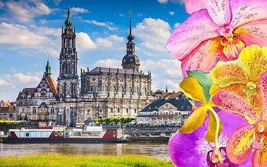 Zájezd do velikonočních Drážďan na nákupy a výstavu orchidejí pro 1