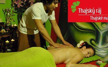 60minutové masáže a Garra Rufa v Thajském ráji