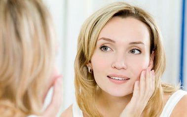 Ošetření pleti kosmetikou SKIN s minikurzem péče o pleť ve Studiu Wellness v Plzni