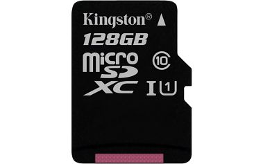 Kingston Micro SDXC Class 10 128GB UHS-I - SDC10G2/128GBSP + Integral - Pouzdro na paměťovou kartu - 1x microSD 4-pack