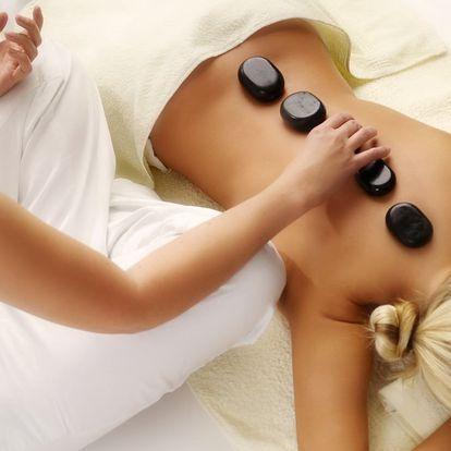 Výběr z masáží lávovými kameny