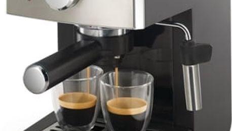 Espresso Saeco Poemia HD8425/19 černé/chrom