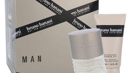 Bruno Banani Man dárková kazeta pro muže toaletní voda 30 ml + sprchový gel 50 ml