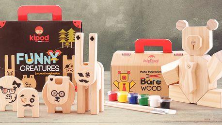 Designové hračky, které si vaše dítě vyrobí samo