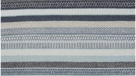 Modrý vlněný koberec Linie Design Mariko, 170x240cm - doprava zdarma!