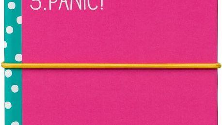 Set zápisníku a lepicích papírků Happy Jackson Stuff Sticky