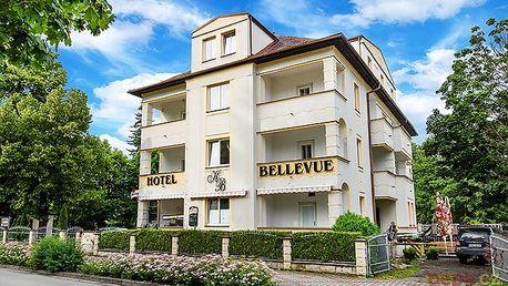 3–5denní pobyt pro 2 s vířivkou v hotelu Bellevue u Máchova jezera