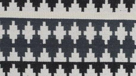 Zelený bavlněný koberec Linie Design Nantes, 80x250cm - doprava zdarma!