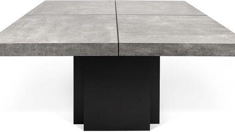 Jídelní stůl s dekorem betonu TemaHome Dusk, 130 cm - doprava zdarma!