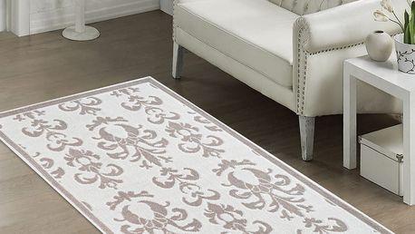 Odolný koberec Grace, 60x90 cm, béžový