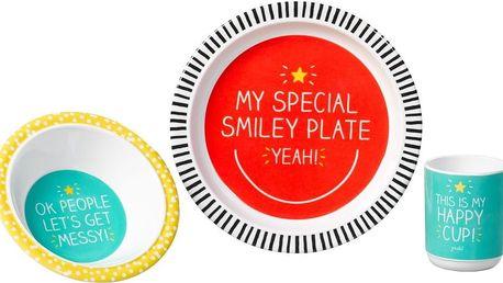 Jídelní sada Happy Jackson Smiley