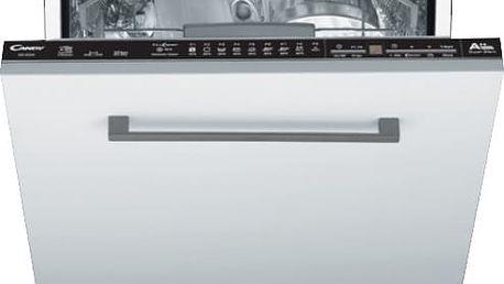 Vestavná plně integrovaná myčka s šířkou 60 cm Candy CDI 2D52