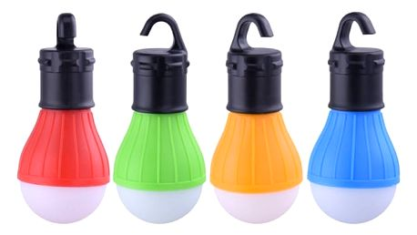 Závěsné světlo na kempování - více barev