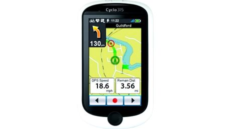 Navigační systém GPS Mio Mio Cyclo 315 HC černá/bílá