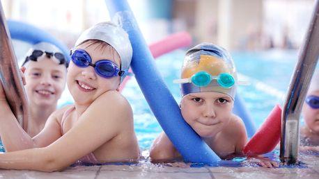 4měsíční kurzy plavání pro děti