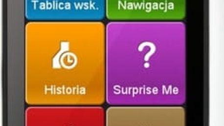 Navigační systém GPS Mio Mio Cyclo 505 HC černá/bílá
