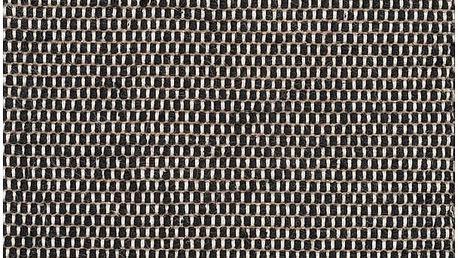 Vlněný koberec Linie Design Asko Black, 170x240cm - doprava zdarma!