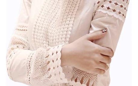 Dámská košile v bílé barvě - prodyšná