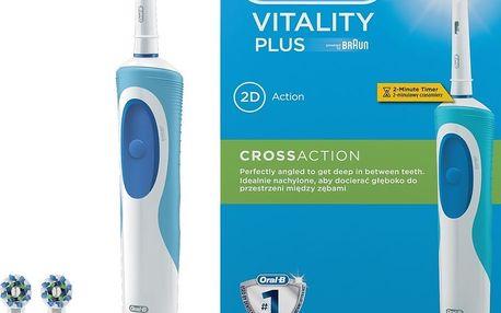 Elektrický kartáček na zuby Oral-B Vitality Plus Cross Action