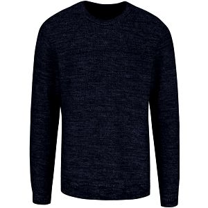Tmavě modrý žíhaný svetr Jack & Jones Seatlle